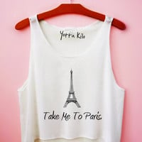 Copy of Take Me To Paris Crop Tank Top
