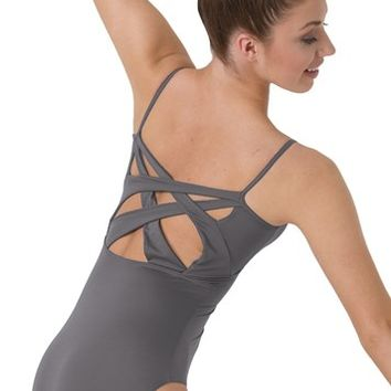 Camisole Cross-Back Leotard