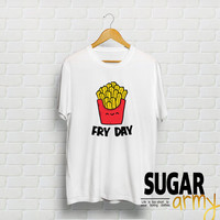 Fry Day shirt, fries shirt, fry day shirt, fryday shirt, tumblr shirt, teen clothing, instagram tshirt, instagram fashion, fries