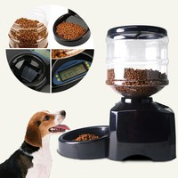 1.4 Gal Automatic Pet Feeder With Voice Messaging And Recording