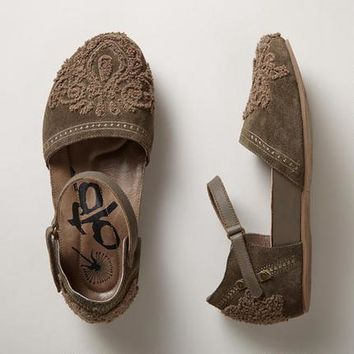 Embroidered Suede Mary Jane Shoes | Robert Redford's Sundance Catalog