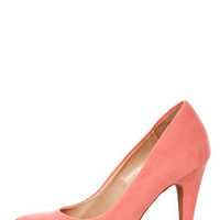 Anne Michelle Adoncia 01 Melon Pointed Pumps