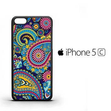 Vintage Paisley Cute Twitter Y0619 iPhone 5C Case
