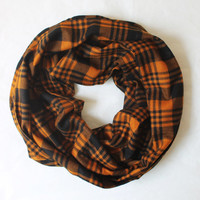 yellow-black scarf,infinity scarf, scarf, scarves, long scarf, loop scarf, gift