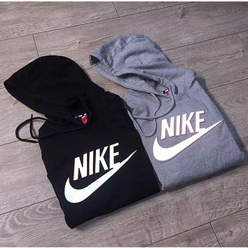 3D Ray color NIKE Women Fashion Hooded Top Pullover Sweater Sweatshirt Hoodie
