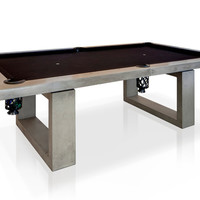 Concrete Indoor Pool Table