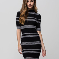 SAY WHAT? Mock Neck Midi Dress | Short Dresses