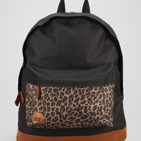 Mi-Pac Black Leopard Backpack - Urban Outfitters