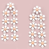 Daisy Chain Drop Earrings