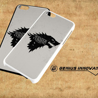 Game Of Thrones Stark - Winter Is Coming Samsung Galaxy S3 S4 S5 Note 3 , iPhone 4(S) 5(S) 5c 6 Plus , iPod 4 5 case