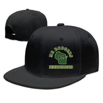 Mr Rodgers Neighborhood Breathable Unisex Adult Womens Snapback Caps Mens Fitted Hats