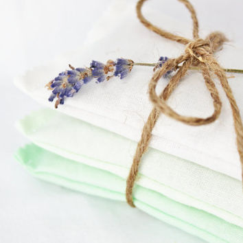 Cucumber Ombre Lavender Sachets Organic Elegant by gardenmis