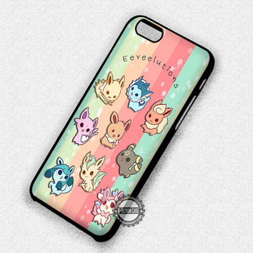 Cute Eeveelutions - iPhone 7 6 Plus 5c 5s SE Cases & Covers