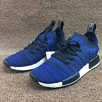 Trendsetter Adidas NMD R1 Primeknit PK  Women Men Fashion Casual Sneakers Sport Shoes