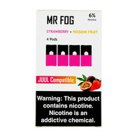Mr Fog Strawberry + Passion Fruit 4 Pods