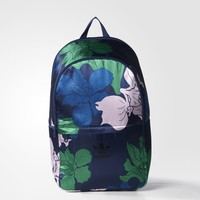adidas Floral Engraving Essentials Backpack - Blue | adidas US