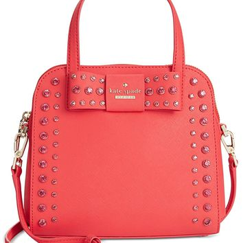 new york Davies Mews Small Merriam Satchel Bag