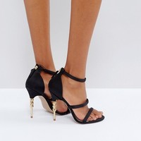 KG By Kurt Geiger Jazz Suede Heeled Sandals at asos.com