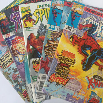 Spider-Man Comic Book Lot (1980's, 1990's, early 2000's)