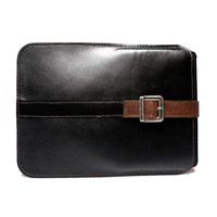 The highest quality unique men leather iPad case - gift for him