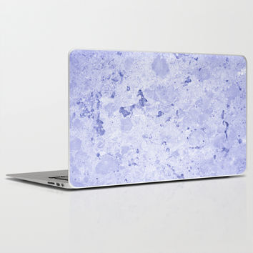 Marble - Blue Laptop & iPad Skin by Galaxy Eyes