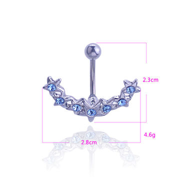 Navel Rings Earrings Earring Sea Belly Ring [6768825031]