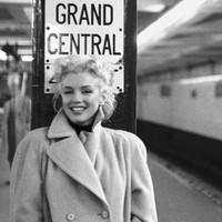 Marilyn Monroe Grand Central Station