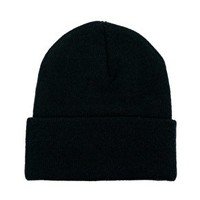 American Apparel Cuffed Beanie Hat at asos.com