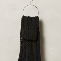 Reaghan Legwarmers by Anthropologie Black One Size Lounge