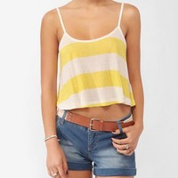 Cropped Striped Cami