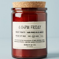Biren & Co. Time Stamp Candle