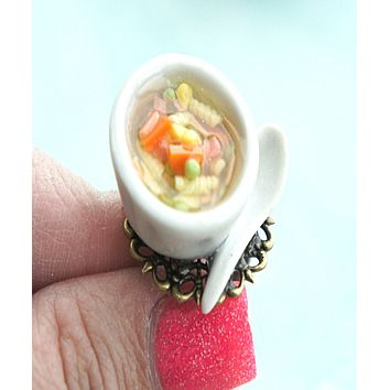 chicken noodle soup ring