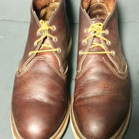 Red Wing® 3141 Classic Chukka Brown Leather Work Boots Men's Size 10