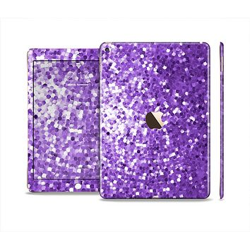The Purple Shaded Sequence Skin Set for the Apple iPad Air 2
