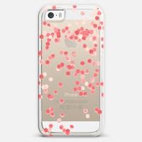 Limited Edition Coral iPhone 5s case by Monika Strigel | Casetagram