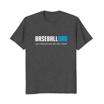 Mens Baseball Dad Shirt- Funny Cute Father's Day Gift