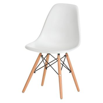 Eames Style Side Chair, White