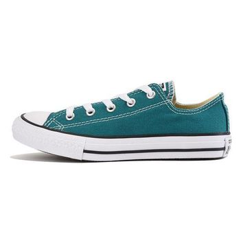 MDIGH3W Converse for Kids: Chuck Taylor All Star Ox Rebel Teal Sneaker