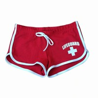 Official LIFEGUARD Womens Hi- Cut Short