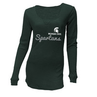 Michigan State Spartans (MSU) Reign Long Sleeve