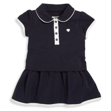 Baby Girls Navy Blue Dress Dress