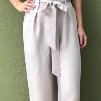 Anything Goes Pants- Taupe