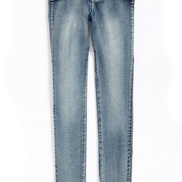 Toddler Girl's Hudson Kids 'Collin' Flap Pocket Skinny Jeans,