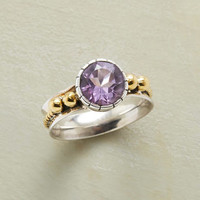 Brass Rope Amethyst Ring | Robert Redford's Sundance Catalog