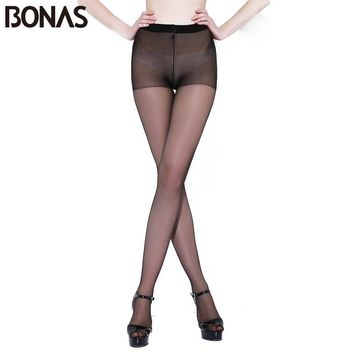 15D Seamless Tights Women Summer Hosiery Elasticity Spandex Pantyhose Female Fashion Stretch Polyester Slimming