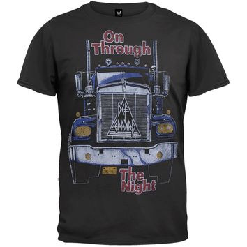 Def Leppard - On Through The Night Soft T-Shirt