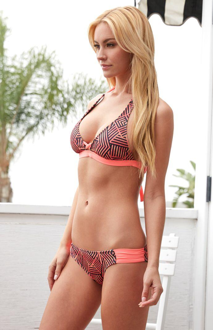 a51ac12281 Hurley Basket Weave Halter Bikini Top - from PacSun | Swimsuits