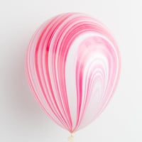 Marble Party Balloons - Pack of 8
