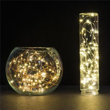 Long Water Proof String Light With USB Power Cord