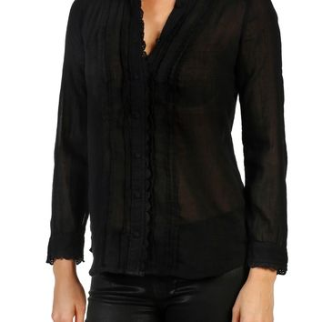PAIGE Kyleigh Cotton Blouse | Nordstrom